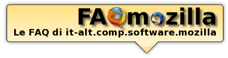 FAQ di it-alt.comp.software.mozilla - Firefox & Thunderbird